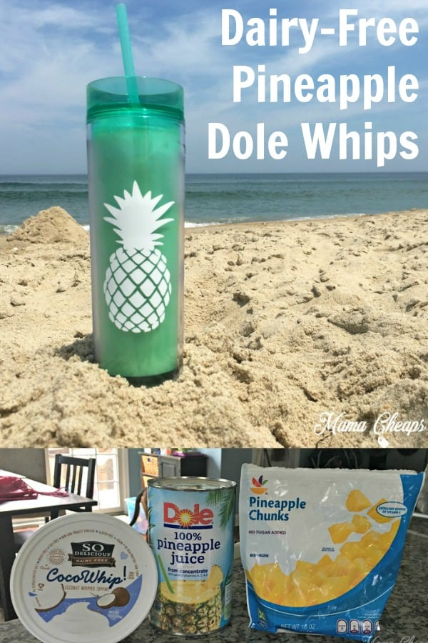 Dairy-Free Pineapple Dole Whips