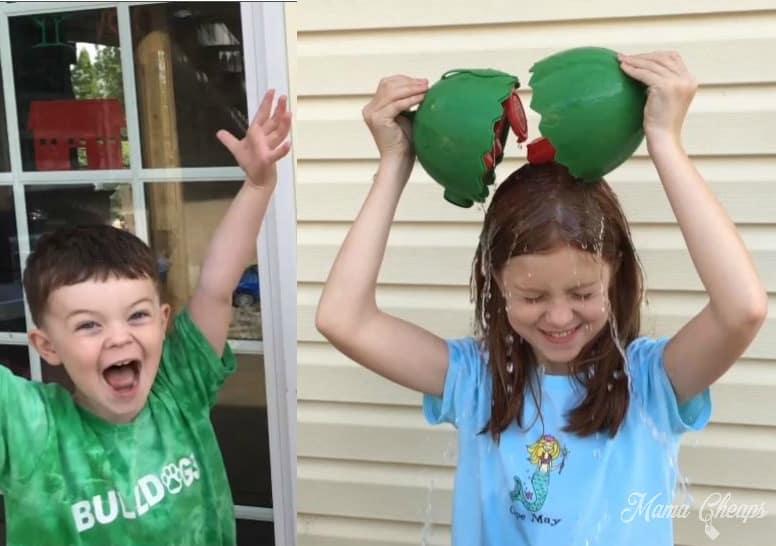 Playing Watermelon Smash