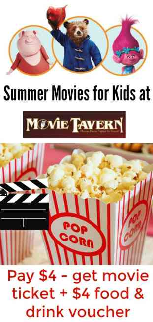 movie tavern summer kid movies