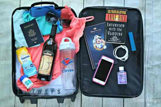 cruise carry on bag packing list