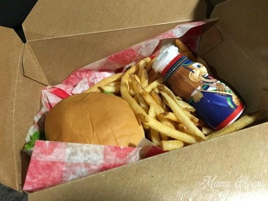 Kid Meal Disney Chuck Wagon