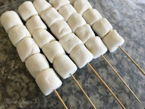 marshmallow skewers