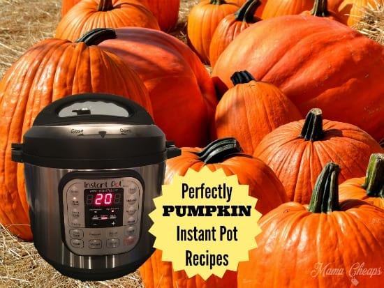 PUMPKIN Instant Pot Recipes