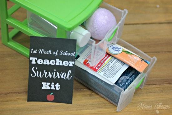 Teacher Survival Kit Craft