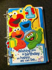 Birthday Card Keepsake Tutorial