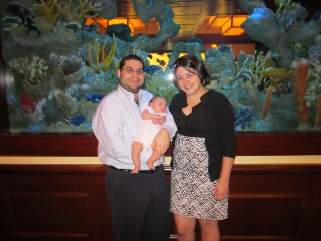 Sarah attends her first Chabad gala!