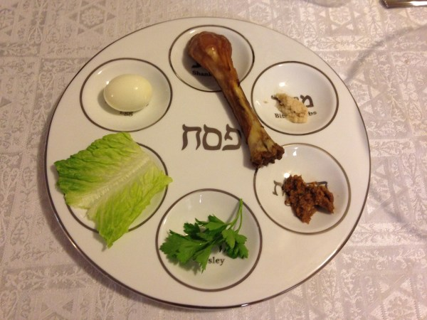 Passover: Seder Plate