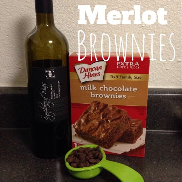 Mama Chit Chat: Merlot Brownies