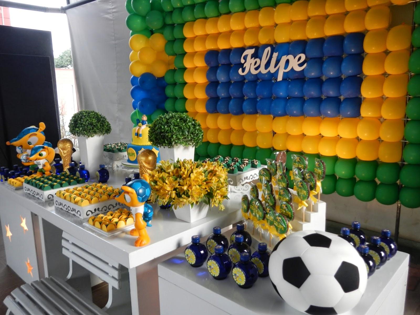 Copa Do Mundo: +30 Ideias Para A Festa De Aniversário Infantil