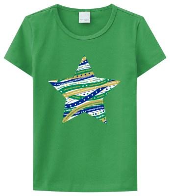 Camiseta menina kids R$39,90