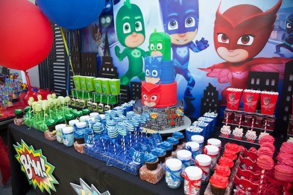 PJ-Masks-Superhero-Birthday-Party-via-Karas-Party-Ideas-KarasPartyIdeas.com58