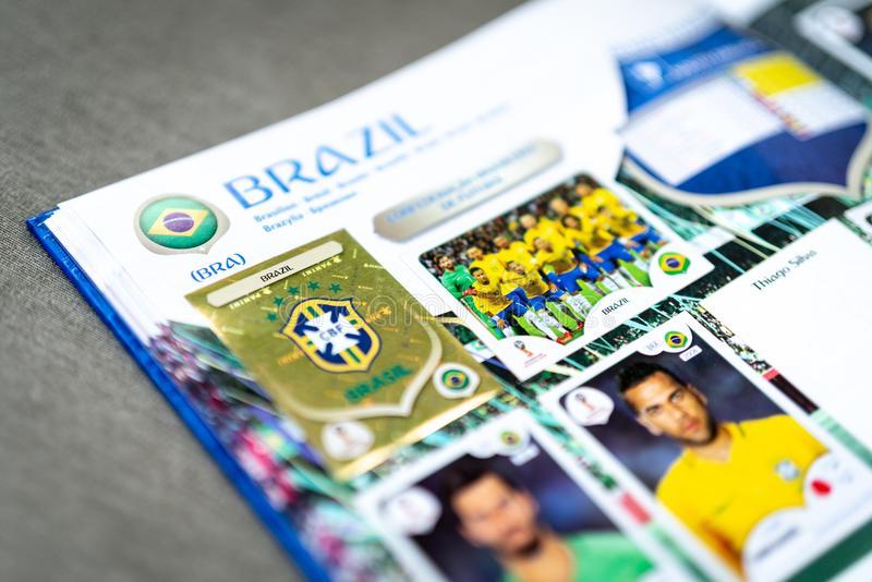 Album Da Copa - Panini-fifa-world-cup-russia-official-licensed-sticker-album-