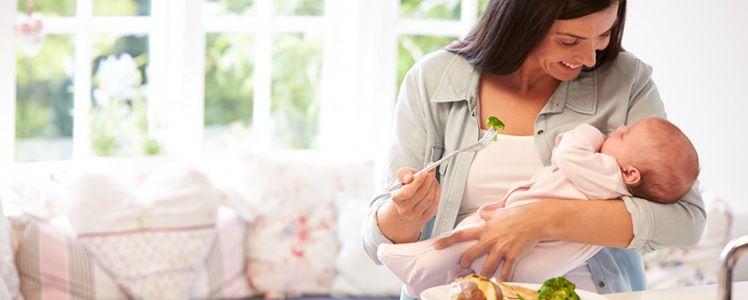 Alimentação Pós-parto : Fundamental Para O Bebê E Para A Mamãe
