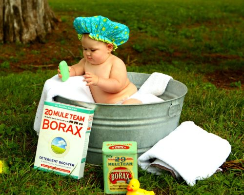 banheira do bebê e higiene