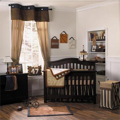 quarto de bebe marrom