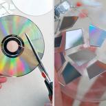 Hora de cortar o CD