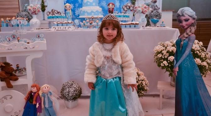 Ideias fofas e criativas para festa Frozen (Festa da Manu)