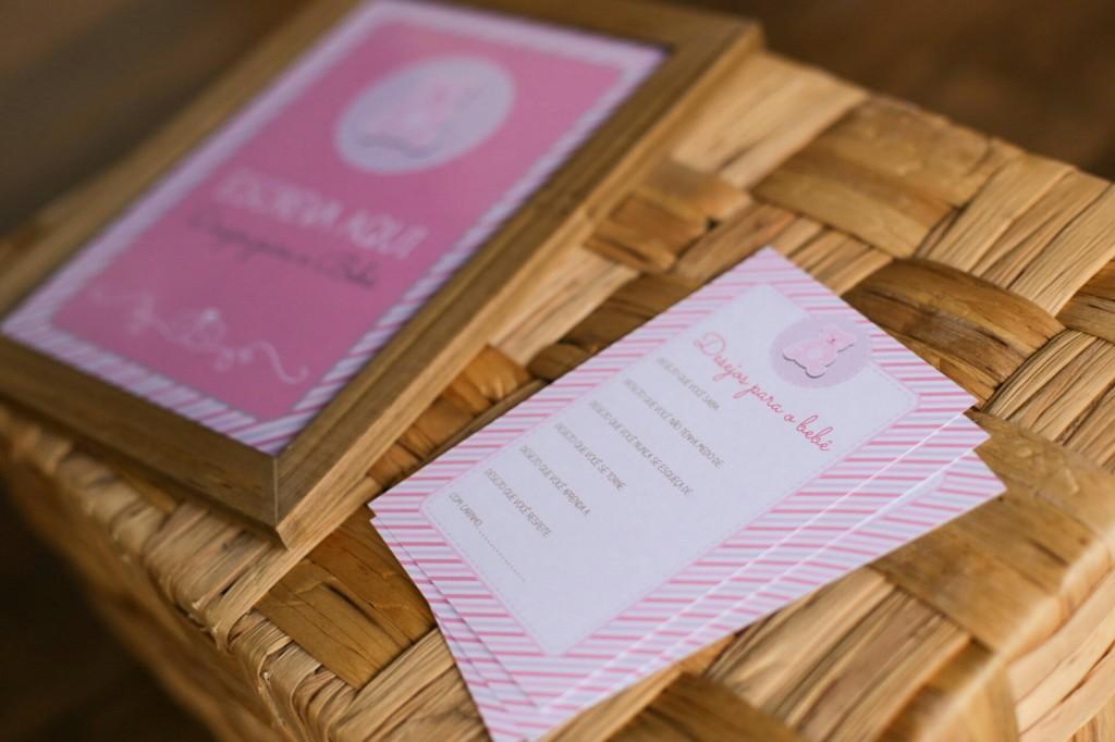 Cartão de desejos menina