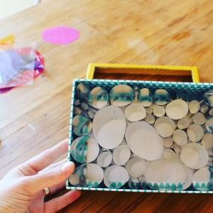 mamá extraterrestre caja mágica de luz DIY mylar light box Hikari no Hako