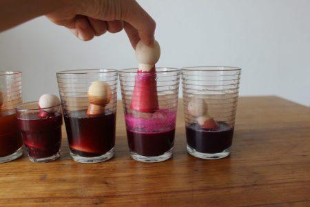 tintes naturales juguetes madera organicos no tóxicos colorantes alimentarios caseros