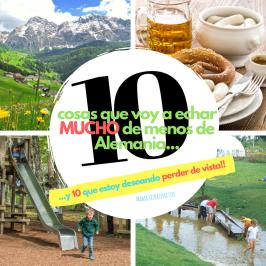 10 cosas que voy a echar mucho de menos de Alemania