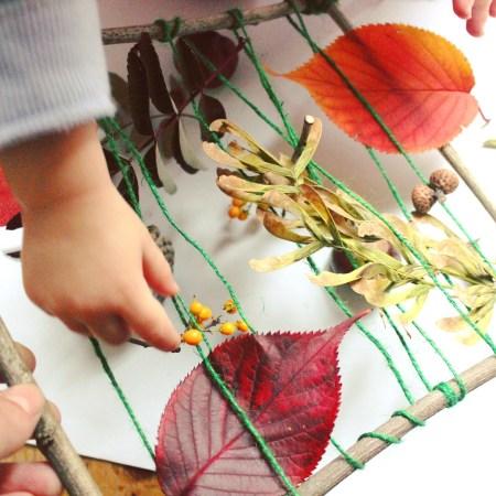 juegos de luz sol mama extraterrestre arcoiris destellos telar hojas otoño