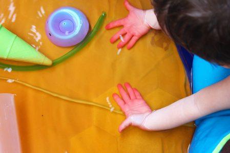 mama extraterrestre teñir agua juegos de agua piezas sueltas colores