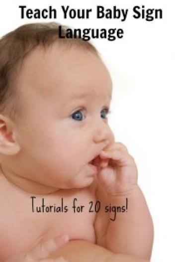 baby signing eat