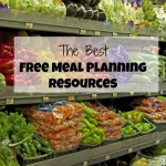 My Favorite Free Meal Planning Resources
