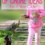 The Ultimate List of Chore Ideas For 7 Year Olds