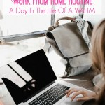 My Actual Daily Work From Home Routine | A Day In The Life Of A WAHM