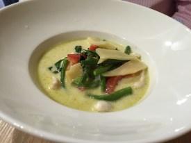 curry vert de poulet IThaï restaurant Thaïlandais Boulogne-billancourt