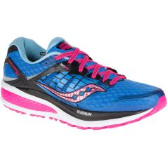 Saucony-Women-s-Triumph-ISO-2-Shoes-SS16-Cushion-Running-Shoes-Blue-Pink-SS16-S10290-2-3