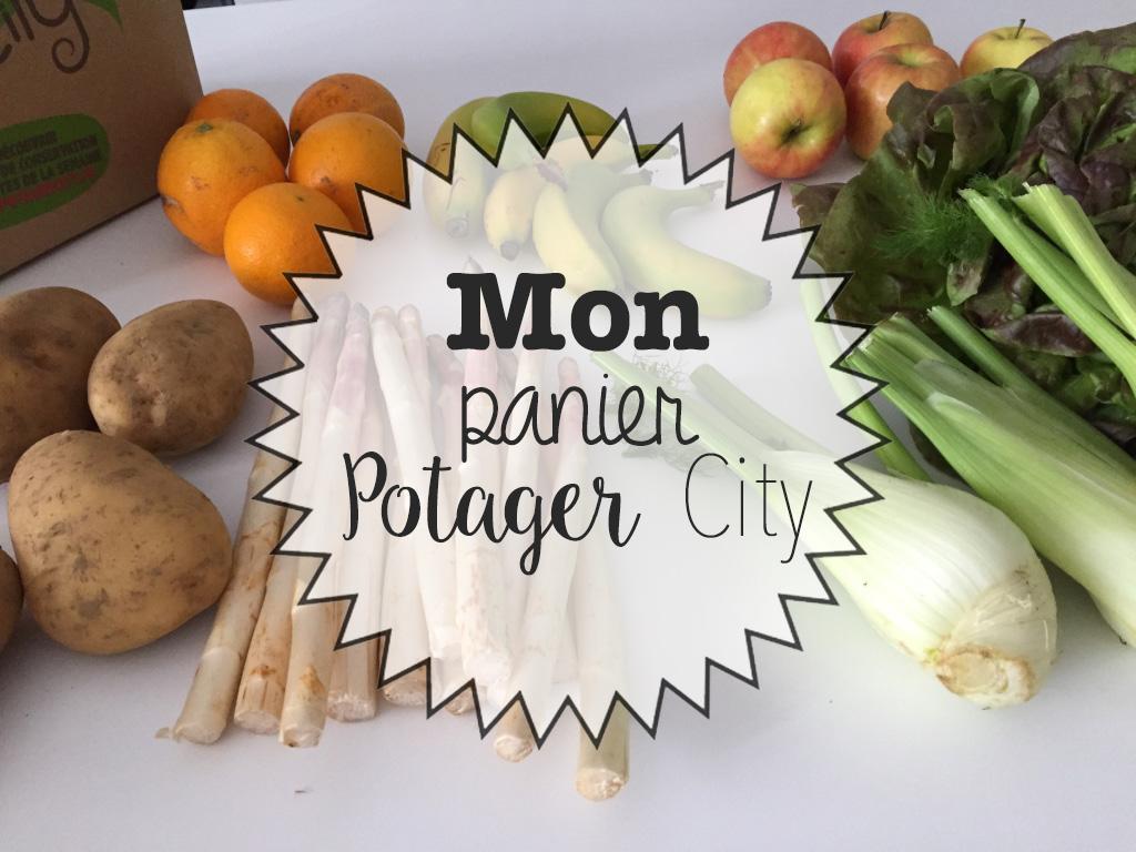 Mon panier Potager City
