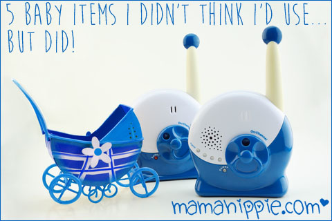 Baby items I didn't think I'd use... but did!