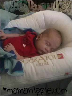 Sleeping in the dockatot