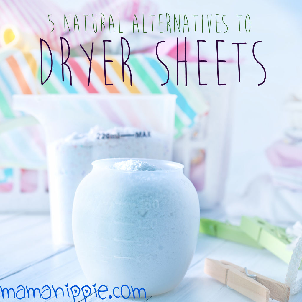 5 Natural Alternatives to Dryer Sheets