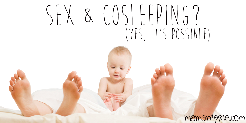 Wanting to cosleep with your baby or child, but not sure how it will affect your intimacy with your partner? Husband worried having a toddler in bed will ruin your sex life? Cosleeping doesn't have to damper your sex life at all. After all, how many children coslept throughout history and still ended up with siblings? From a cosleeping mama pregnant with #2.