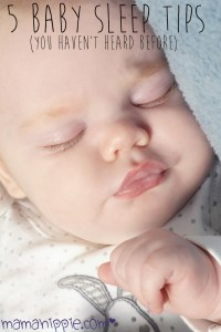 Having trouble getting your little one to sleep? Here are 5 unique tips to get your baby to sleep longer.
