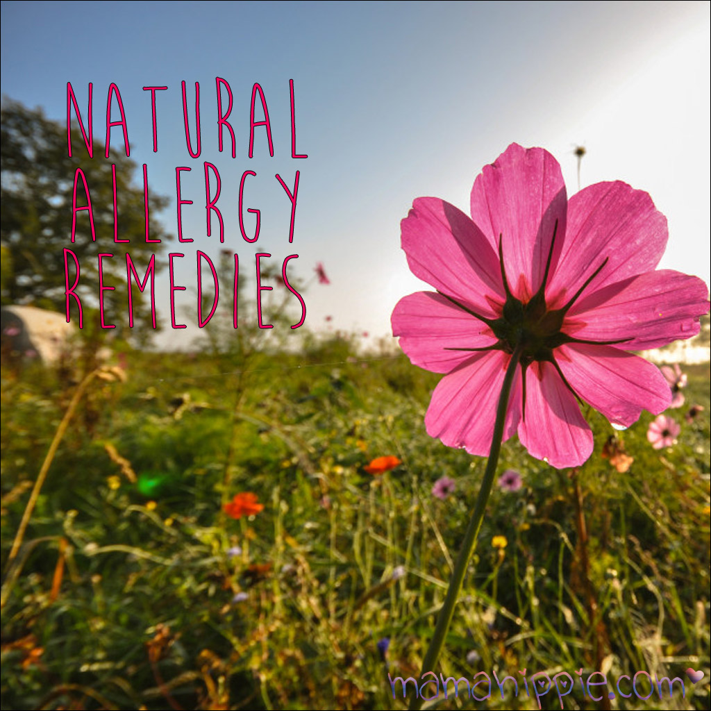 Natural remedies for allergy relief. Good to know with spring coming! Must read!