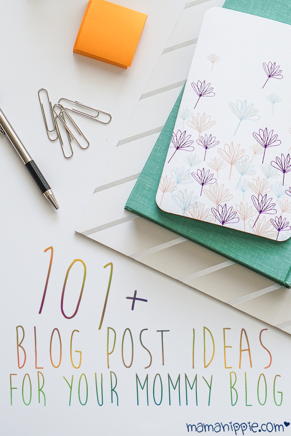 Having trouble coming up with an idea for a blog post? Have a ton of posts in your queue, but nothing feels right? Over 101+ blog post ideas for your mommy blog.