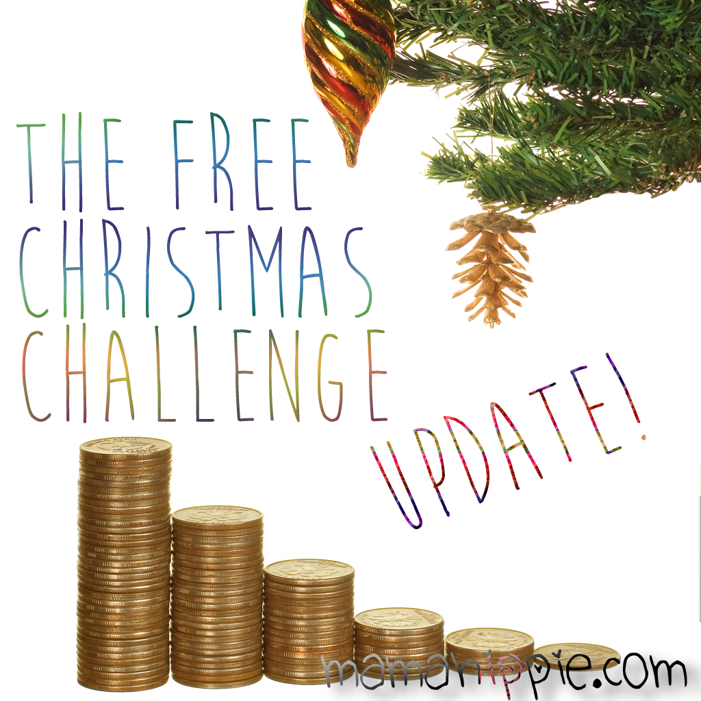 Free Christmas 2016 Challenge: November Progress Update