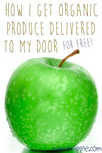 Finding it difficult to eat healthy, organic and local while staying in your budget? This blogger's figured out how to get organic produce delivered to the house for free. Genius! Must do to save money on healthy food!