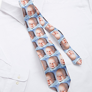 personalization mall custom photo tie