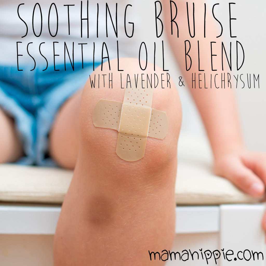 Soothing Bruise Essential Oil Blend – with Lavender & Helichrysum