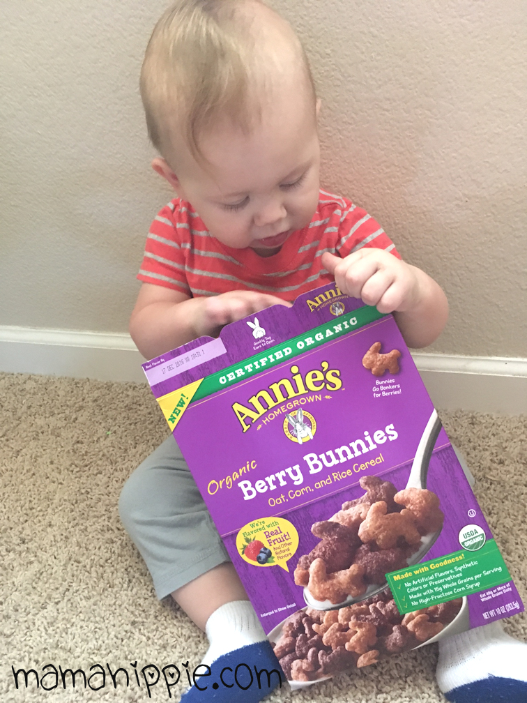 Annie's Homegrown provides delicious, nutritious and organic food that parents and children alike will love. It's organic for every bunny! #yumforall #annieshomegrown