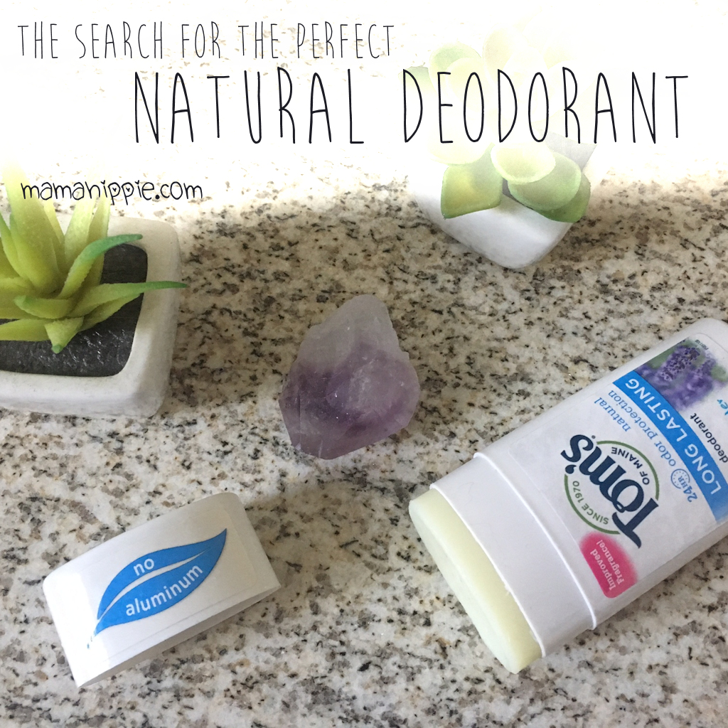 The Search for The Perfect Natural Deodorant