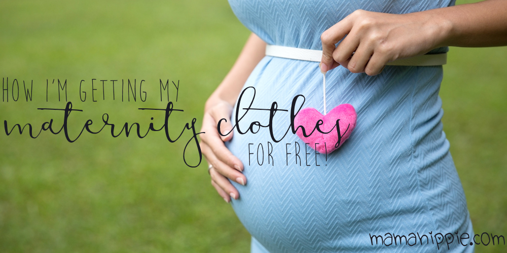 Maternity clothes are expensive, and you really only wear them for a few months! Find out how one mother stocked her maternity wardrobe with cute clothes... for free!