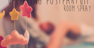 Uplifting Postpartum Room Spray