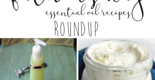 Father's Day Essential Oil Recipes Roundup
